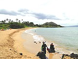 Picture of Maluaka Beach, Maui, Hawaii.