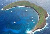 Molokini Aerial view