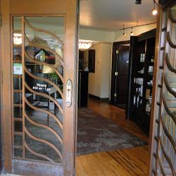 The Spa at Black Rock entry doors