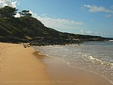 Picture of Little Beach, Maui, Hawaii.