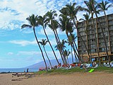 Picture of the Mana Kai Maui resort on Keawakapu Beach.