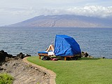 Picture of ocean view on Maui, Hawaii.