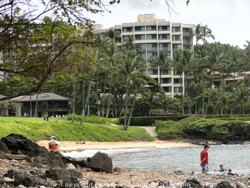 Picture of Ulua Beach, Wailea, Maui, Hawaii.