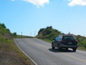 driving in upcountry maui