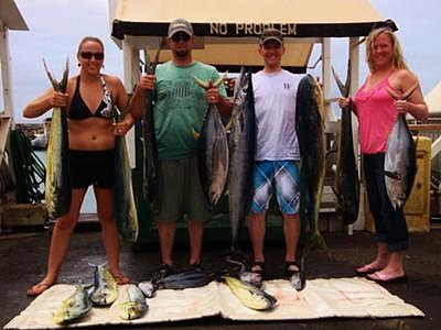 fishing in Maui, Hawaii
