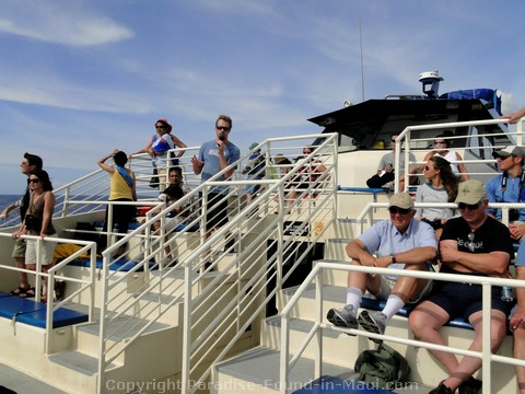 Picture of the stadium style seating on the Ocean Odyssey.