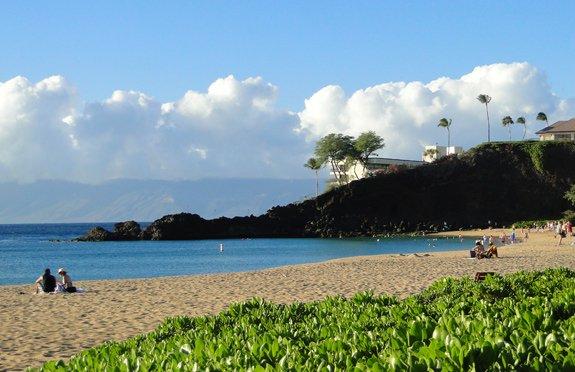 Black Rock, Maui, on Kaanapali Beach