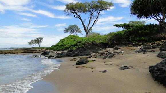 Oneuli Black Sand Beach Maui