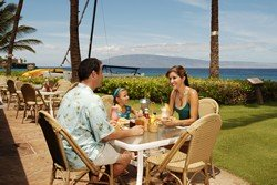Picture of the Castaway Cafe Restaurant at the Aston Maui Kaanapali Villas on Maui, Hawaii.