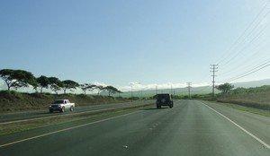Hana Highway leaving Kahului