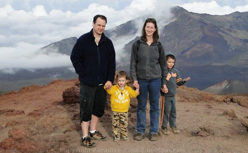 what to wear at the Haleakala Summit