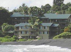 Picture of the Hana Kai Resort's condo vacation rentals in Hana Maui.