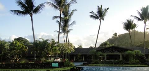Picture of a Hana Hawaii Hotel called the Travaasa Hana on the island of Maui.