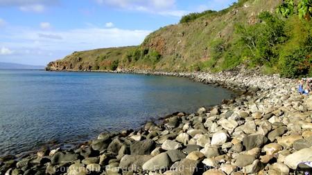 Picture of Honolua Bay, Maui.