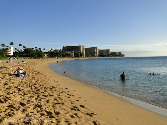 View of Kaanapali Beach from Sheraton Maui Resort and Hotel