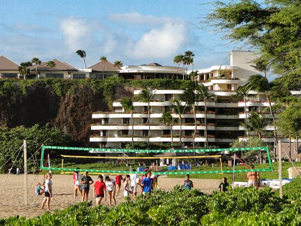 Beach Volleyball at the Kaanapali Beach Resort