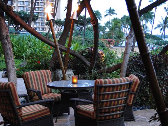 Dining at the Hyatt Regency Maui