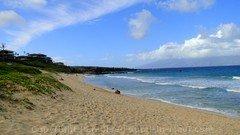 Picture of Oneloa Beach in Kapalua, Maui, Hawaii