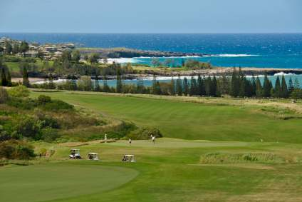 kapalua golfcourse ocean view