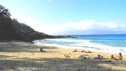 Picture of shade at Mokule'ia Bay, Slaughterhouse Beach, Kapalua, Maui, Hawaii