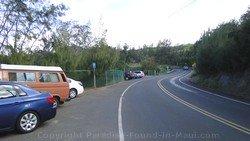 Picture of parking for Mokule'ia Bay, Slaughterhouse Beach, Kapalua, Maui , Hawaii