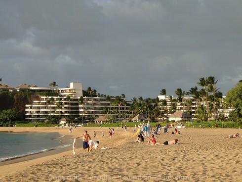 Picture of Kaanapali Beach Resorts, Maui, Hawaii.