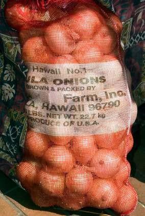 bag of Maui Kula Onions