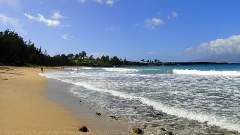 Picture of the D. T, Fleming Beach Park at the Ritz Carlton, Maui.