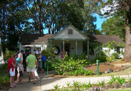 Picture of Tedeschi Winery tasting cottage in Upcountry Maui.