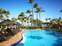 Picture of the adult pool at the Westin Maui Resort and Spa.