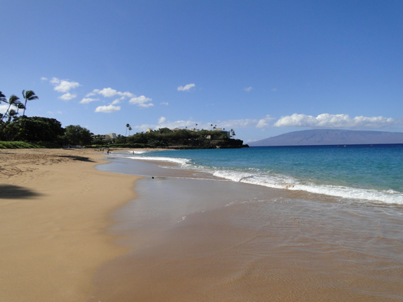 View of Black Rock from North Side Near Royal Lahaina