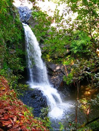 The hidden waterfall