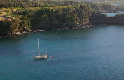 Honoloa Bay in Kapalua, Maui