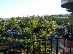 Royal Lahaina Resort Maui, garden view from lanai