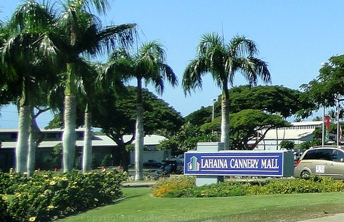 Picture of the Lahaina Cannery Mall, Maui, Hawaii.