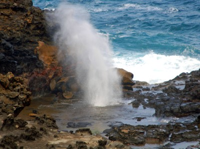 Picture of the Nakalele Blowhole in Maui, Hawaii.