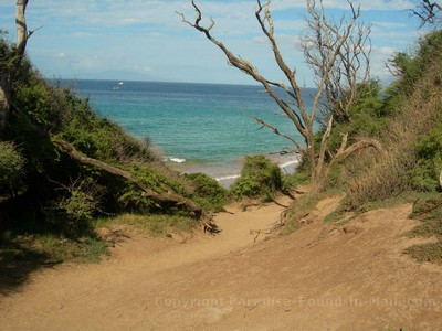 Pathway Down to Little Beach