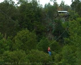 Skyline Eco-Adventures zipline on Haleakala, Maui