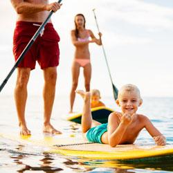 Fun beach activities on Maui for families