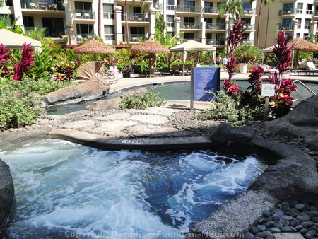 Picture of heated whirlpool at the Westin Kaanapali Ocean Resort .