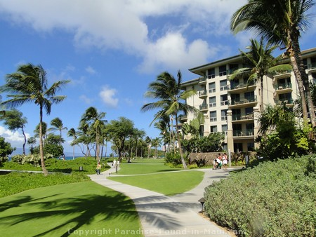 Picture of grounds of the Westin Kaaanapali Ocean Resort