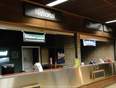 Car Rental Counters at Kahului Airport